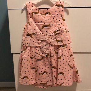 ❗️BOGO 1/2 off ❗️ pink antelope print dress